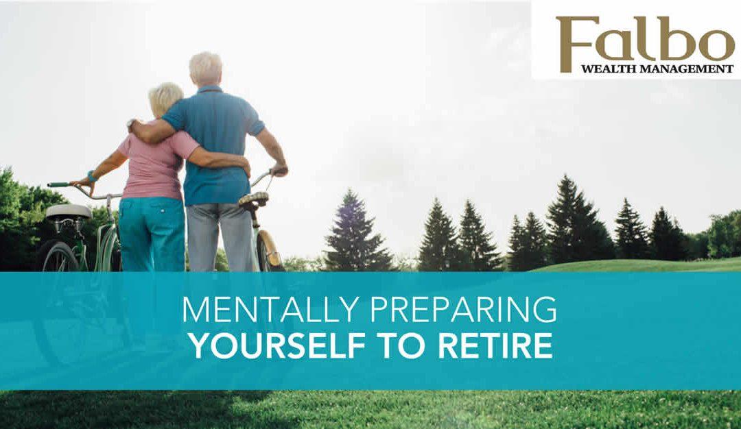 mentally preparing to retire